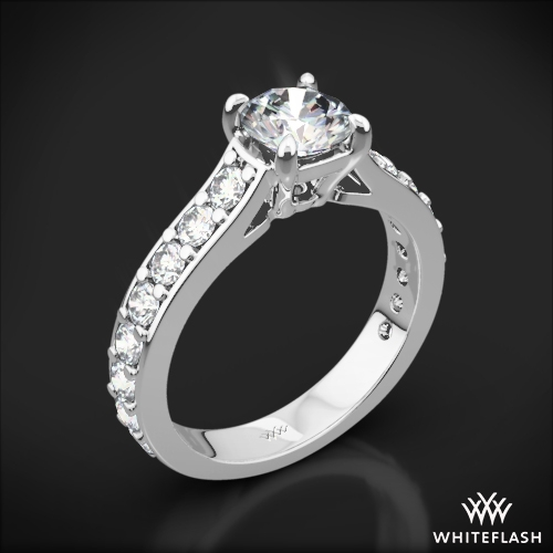 Magnolia Diamond Engagement Ring