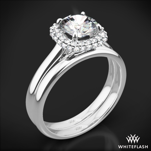 Selene Solitaire Wedding Set