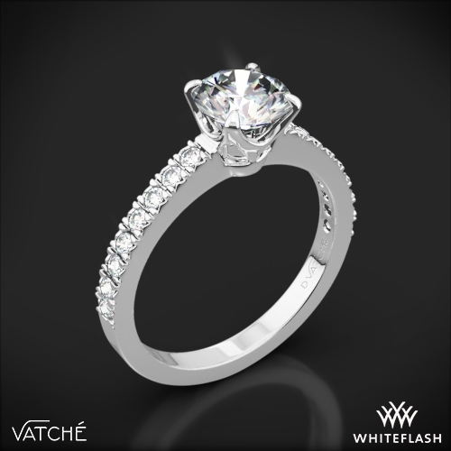 Vatche 1003 '5th Ave Pave' Diamond Engagement Ring