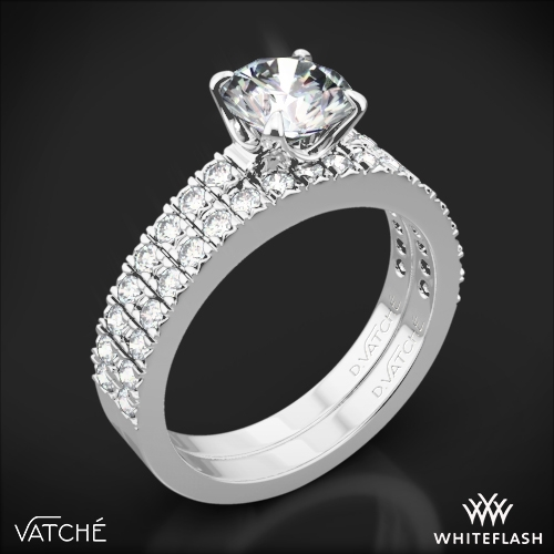Vatche 1003 5th Ave Pave Diamond Wedding Set