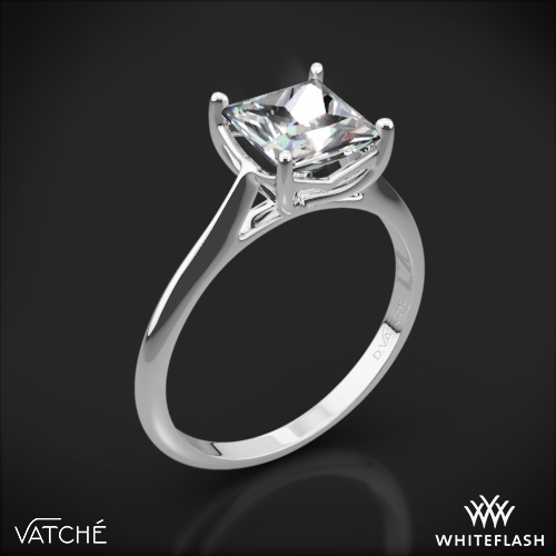 Vatche 1503 Alegria Solitaire Engagement Ring
