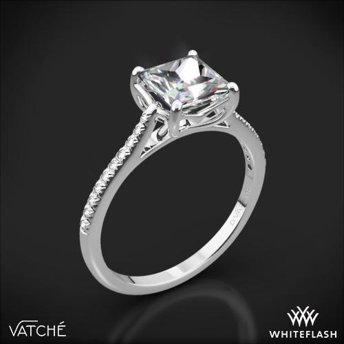 Vatche 1504 Alegria Pave Diamond Engagement Ring