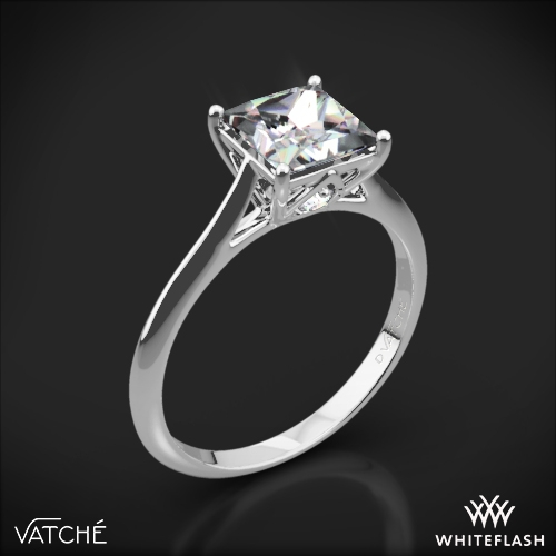 Vatche 1505 Inara Solitaire Engagement Ring for Princess