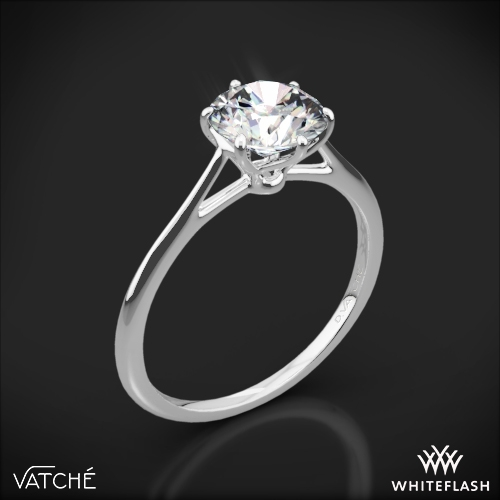 Vatche 1513 Felicity Solitaire Engagement Ring