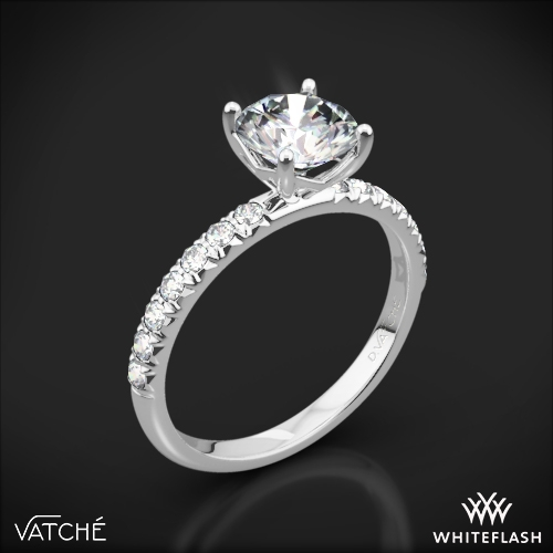 Vatche 1533 'Charis Pave' Diamond Engagement Ring