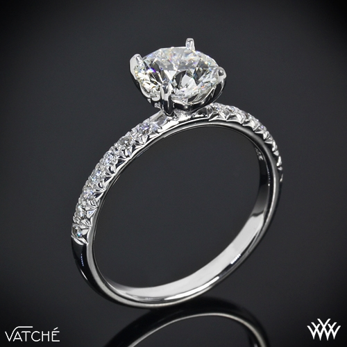 Vatche 'Charis Pave' Diamond Engagement Ring