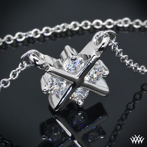 XO Diamond Pendant