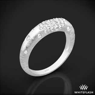 Champagne Pave Diamond Right Hand Ring
