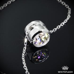 Diamond pendants buy pendant and necklace online at whiteflash full bezel diamond pendant aloadofball Choice Image