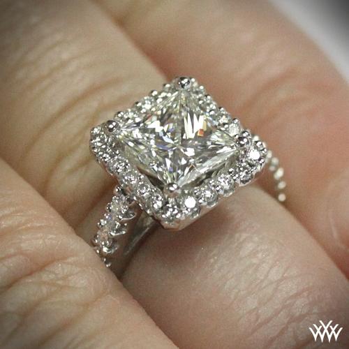Amphora For Princess Diamond Engagement Ring 1520
