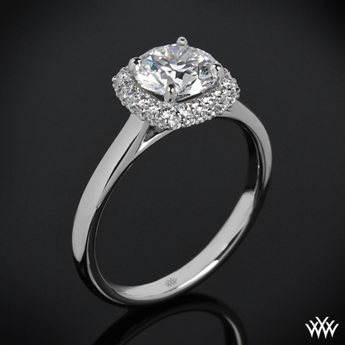 Selene Solitaire Engagement Ring | 1573
