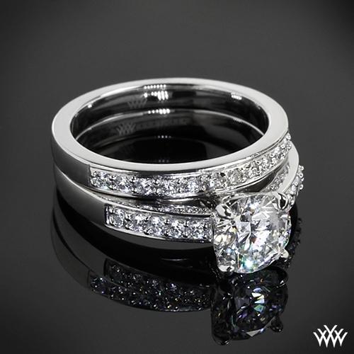 Flush Fit Diamond Wedding Set 1767