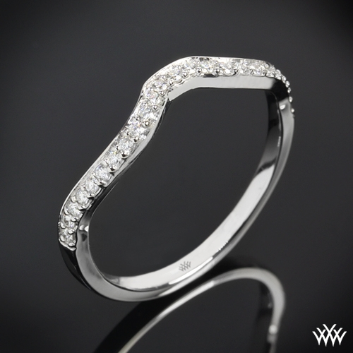 """Infinity"" Diamond Wedding Ring"