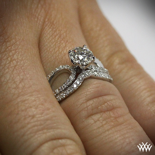 Infinity Diamond Wedding Set