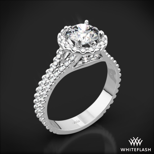 Park Avenue Diamond Engagement Ring