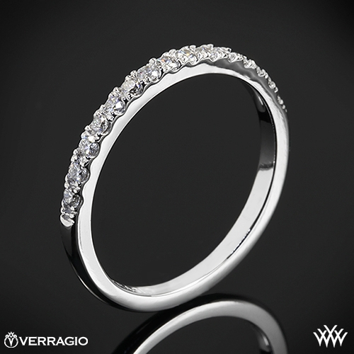 Verragio INS-7049DW Bead-Set Diamond Wedding Ring
