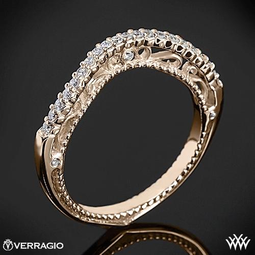 Verragio AFN-5020W-1 Beaded Arch Diamond Wedding Ring