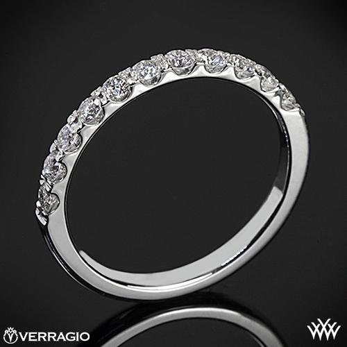 Verragio ENG-0352W Prong Set Diamond Wedding Ring