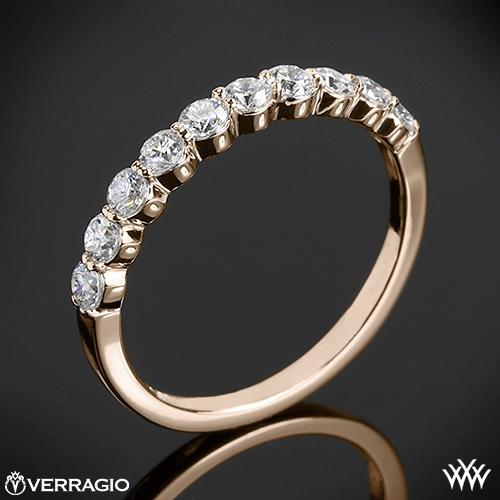 Verragio ENG-0410SW Shared-Prong Diamond Wedding Ring