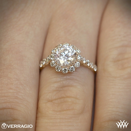 verragio round halo diamond engagement ring 1921