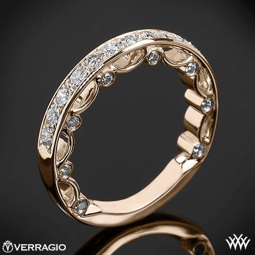 Verragio PAR-3042W Pave Diamond Wedding Ring