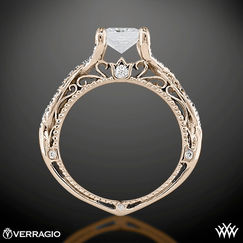 ring side view - Verragio Wedding Rings