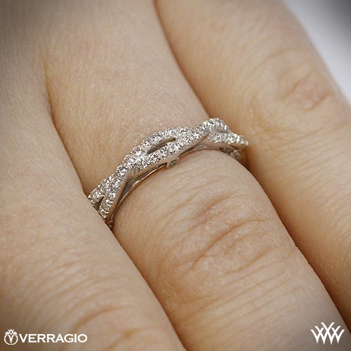 woven stackable htm rings gold p braided ring white diamond