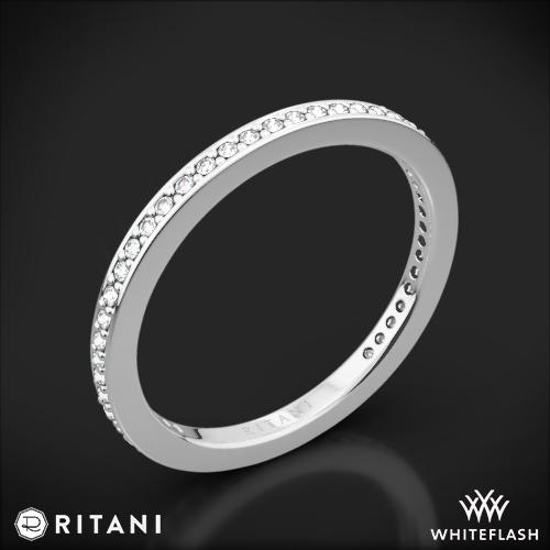 Ritani 31694 Endless Love with Milgrain Diamond Wedding Ring