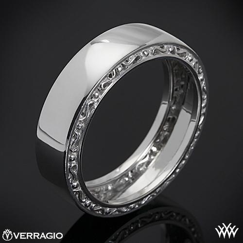 Verragio High Polish Wedding Ring