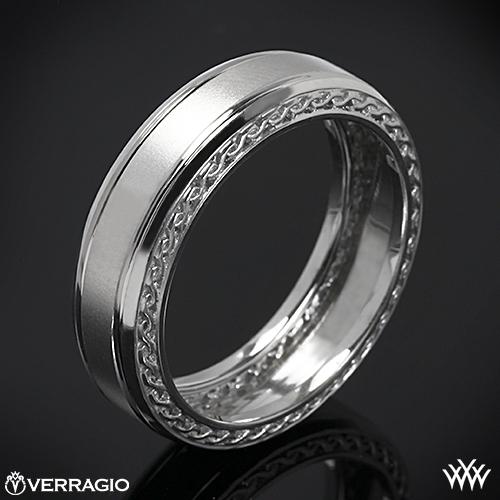 Verragio MV-7006 Woven Satin Wedding Ring