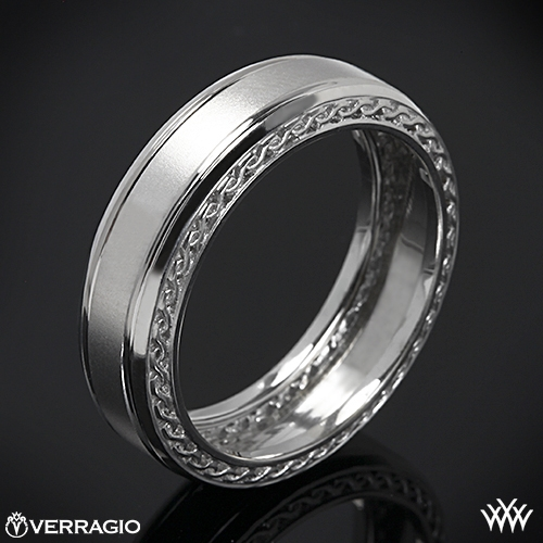 Verragio MV-7006 Woven Satin Wedding Ring