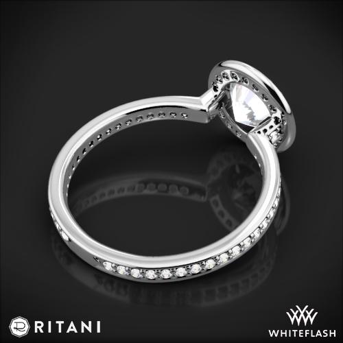 Ritani 1RZ1694 Endless Love Halo Diamond Engagement Ring 5