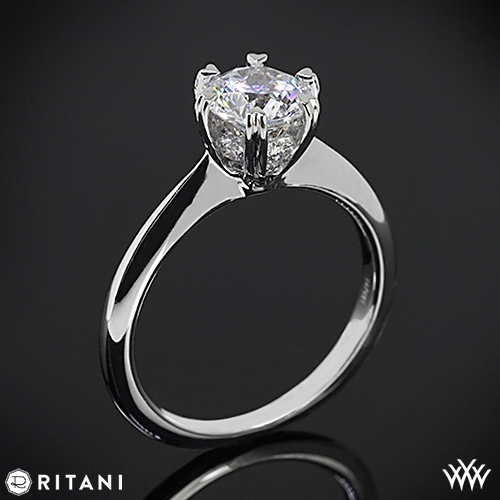 Ritani Solitaire Engagement Ring Whiteflash 2063