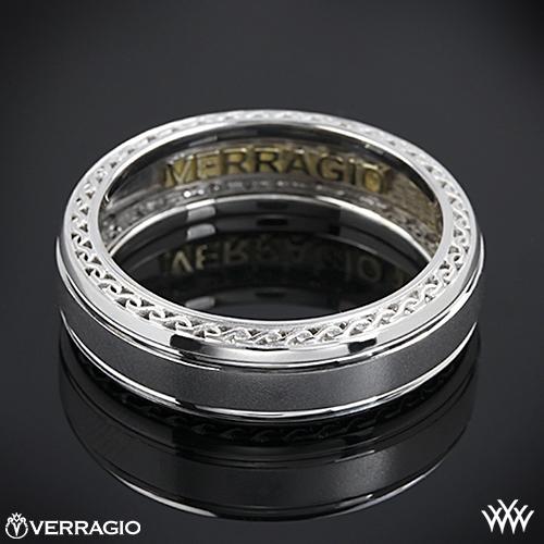 Verragio Woven Satin Wedding Ring 2029
