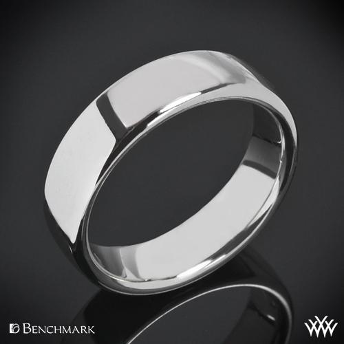 Benchmark European Comfort Fit Wedding Ring