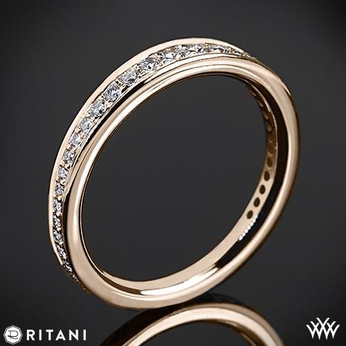 Ritani 92378ARP Pavé Diamond Wedding Ring