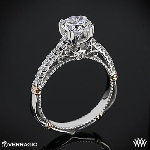 Verragio D-103S Prong Set Diamond Engagement Ring