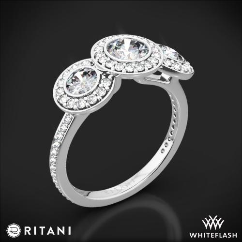 Ritani Endless Love 3 Stone Engagement Ring 1