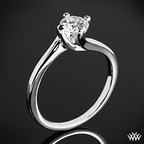 """Carina"" Solitaire Engagement Ring"