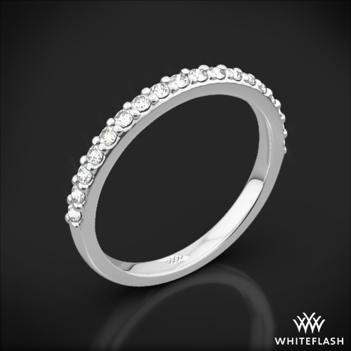 Guinevere Pave Diamond Wedding Ring