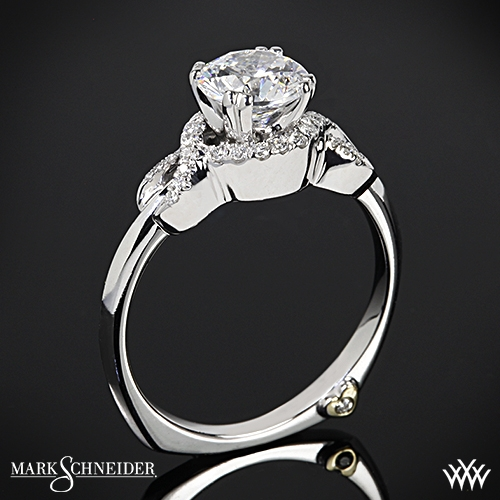 Mark Schneider Infinity Diamond Engagement Ring