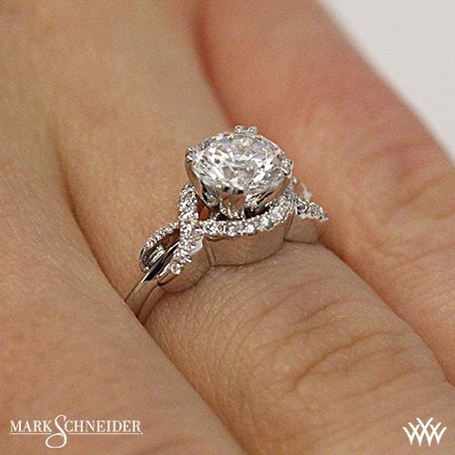 Mark Schneider Infinity Diamond Engagement Ring 2442