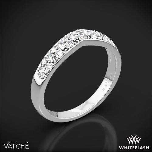 Vatche 213 Contoured Pave Diamond Wedding Ring