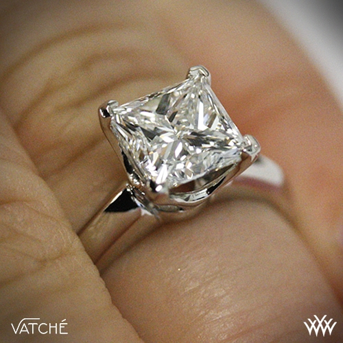 vatche 5th avenue solitaire engagement ring for princess