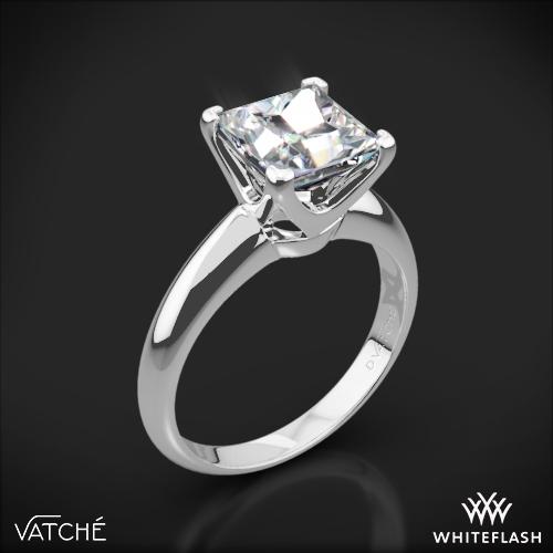 Vatche U-114 5th Avenue Solitaire Engagement Ring for Princess