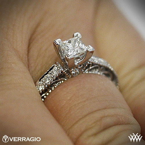 Go Back  Gallery For  Verragio Engagement Rings Princess Cut