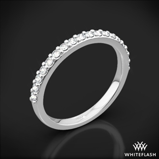 Guinevere Pave Diamond Wedding Ring