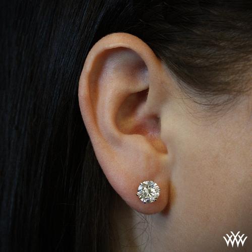 Side View On Ear