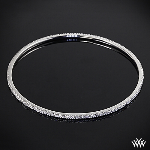 diamond bangles white mu coin gold roberto bangle prod p eternity
