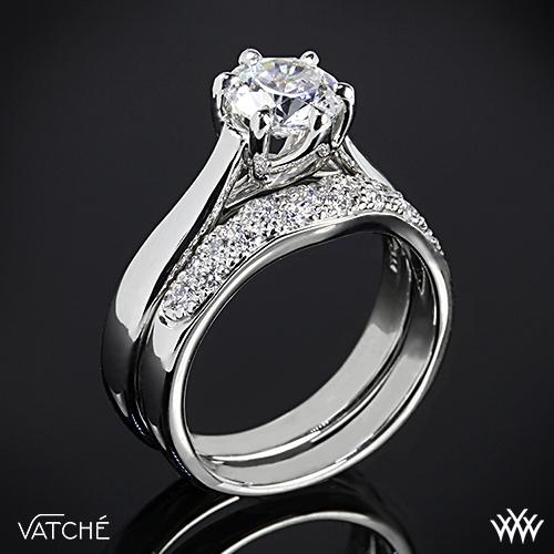 Vatche Royal Crown Diamond Wedding Set 2374